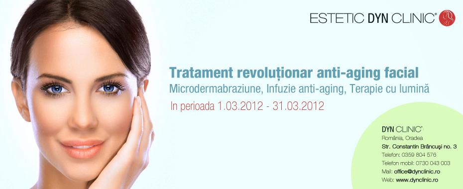 Tratament anti-aging facial