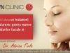 Tratament injectare cu acid hialuronic